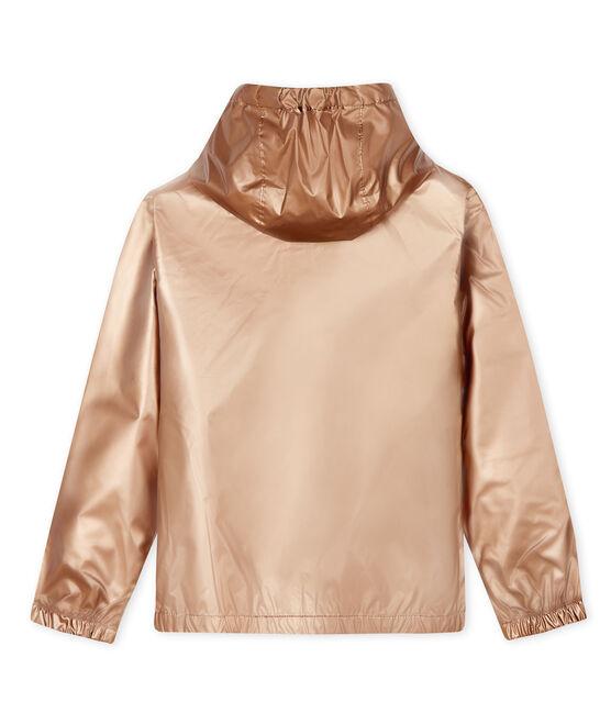 Cortavientos infantil unisex rosa Copper