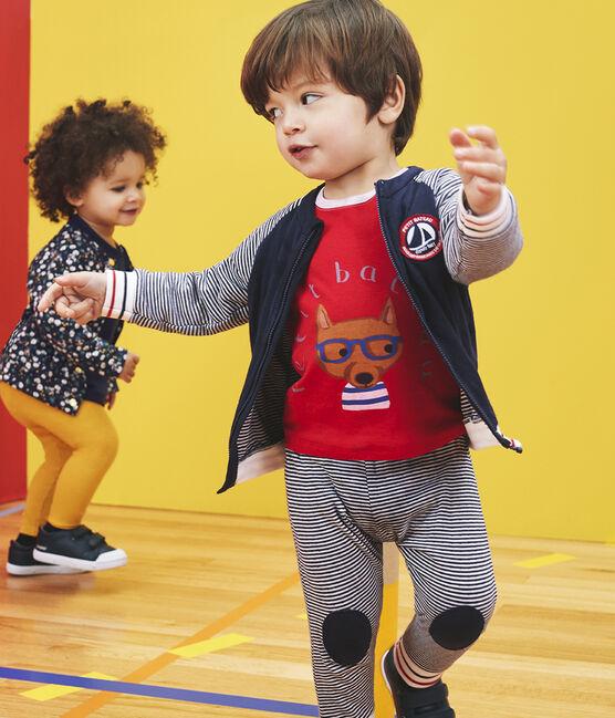 Camiseta de manga larga para bebé niño rojo Terkuit / gris Beluga