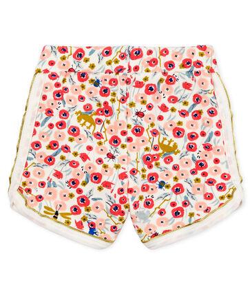 Shorts estampados para bebé niña