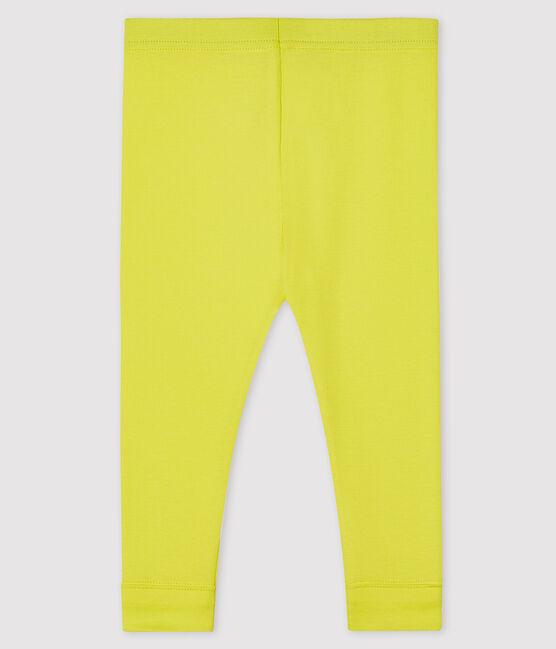 Leggings para bebé niña amarillo Eblouis