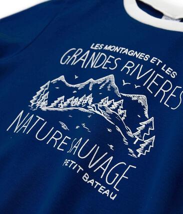 Camiseta de niño azul Limoges