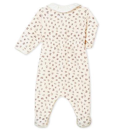 Pijama para bebé niña en túbico estampado