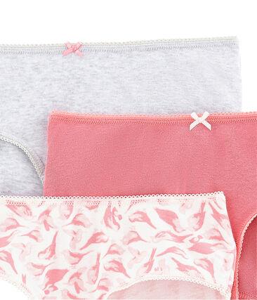 Pack de 3 shorties para niña