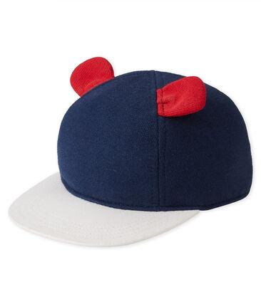 Gorra de muletón azul Smoking / blanco Multico