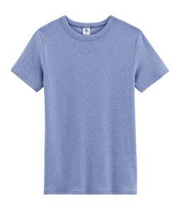 Camiseta icónica para mujer azul Captain Chine