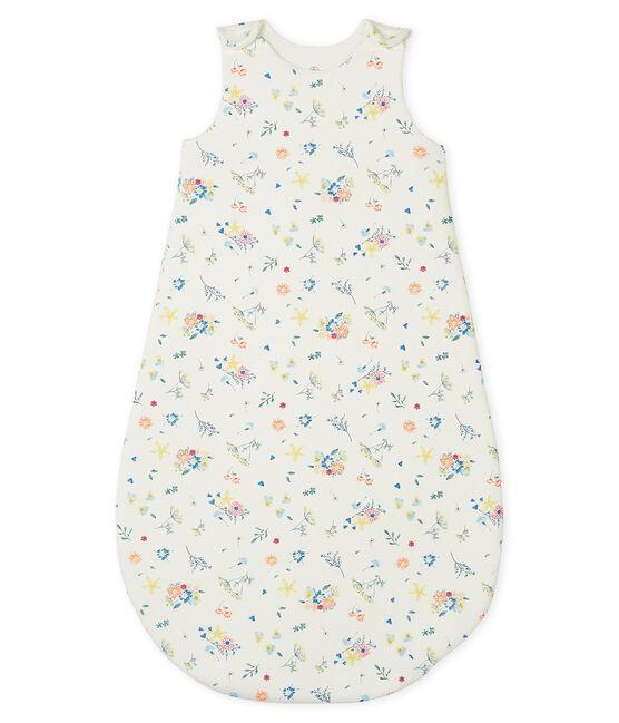 Saco de punto para bebé de niña blanco Marshmallow / blanco Multico
