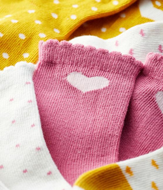 Juego de 5 pares de calcetines para bebé lote .