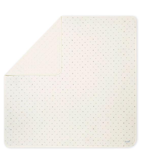Arrullo para bebé mixto en túbico estampado blanco Marshmallow / negro Noir