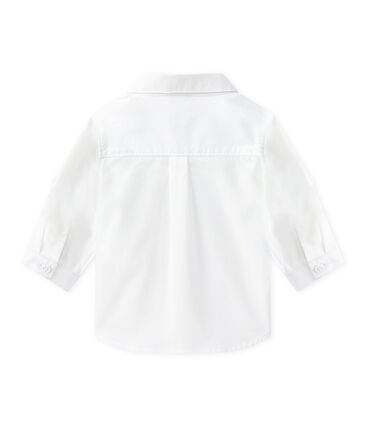 Camisa de manga larga arremangable para bebé niño