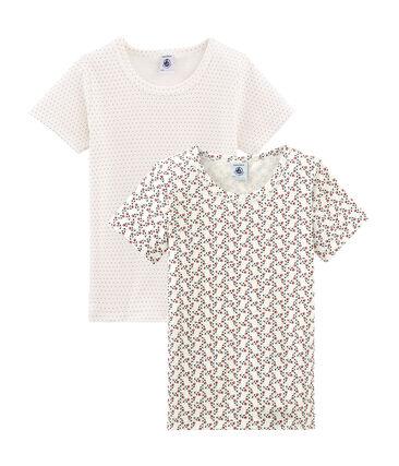 Par de camisetas para niña