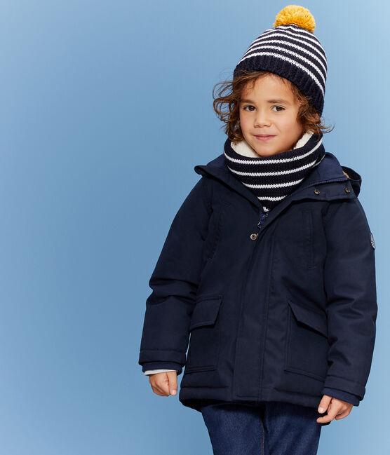 Gorro infantil para niño azul Smoking / blanco Marshmallow
