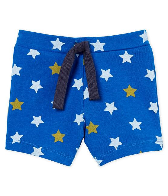 Shorts estampados para bebé niño azul Riyadh / blanco Multico
