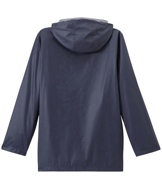 Chubasquero icónico unisex azul Smoking