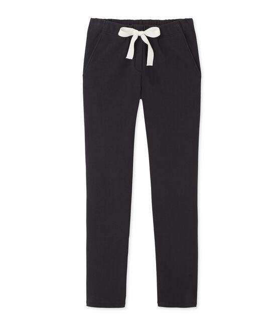 Pantalon femme en coton stretch gris Capecod