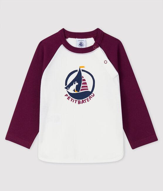 Camiseta para bebé niño MARSHMALLOW/CEPAGE