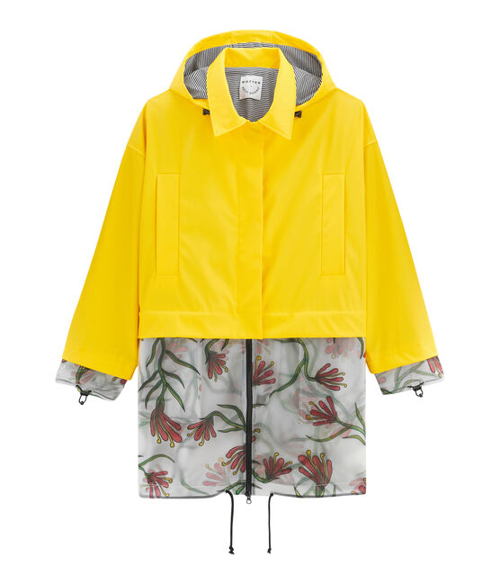 Parka amarillo Shine / blanco Multico