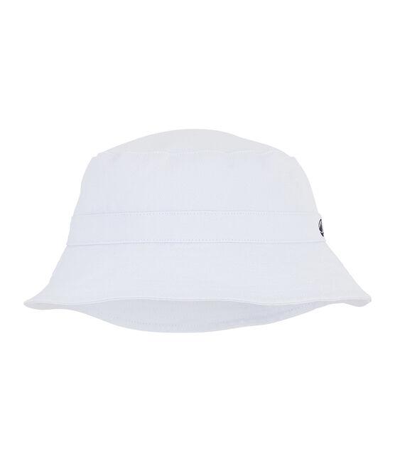 Sombrero bob de sarga para peque mixto blanco Marshmallow