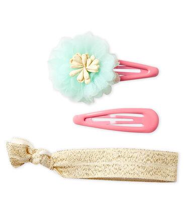 Juego de accesorios de pelo infantiles para niña