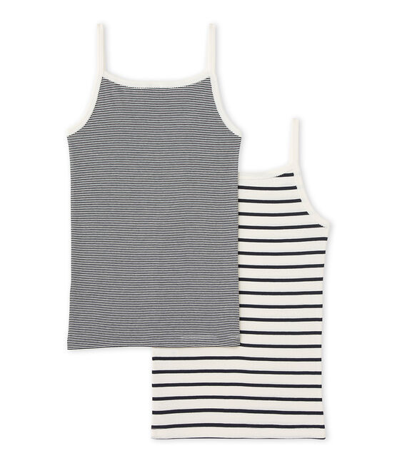 Pack de 2 camisetas de tirantes para niña lote .