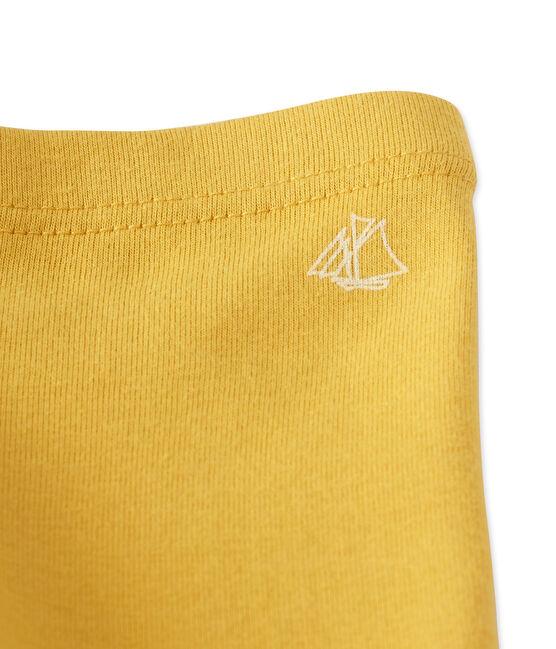 Legging para bebé niña. amarillo Ocre