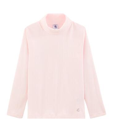 Jersey de cuello alto infantil unisex rosa Vienne