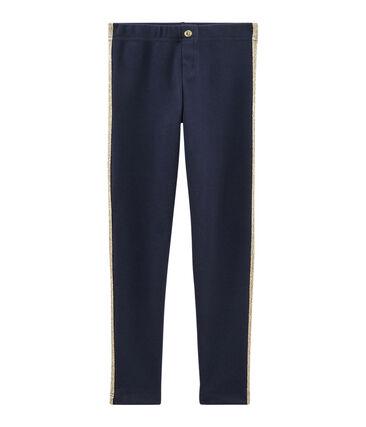 Pantalón de niña azul Smoking