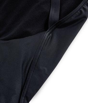 Traje de baño de 1 pieza ecorresponsable negro Noir