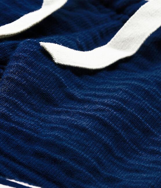Pantalón bebé niño azul Medieval