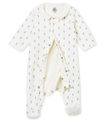 Bodypijama para bebé niño en terciopelo de algodón estampado