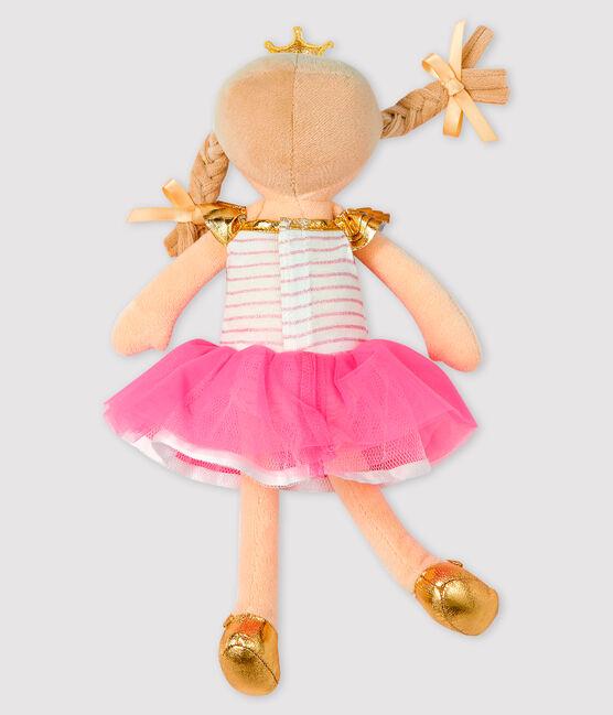 Muñeca bailarina para niña pequeña rosa Fleur / blanco Multico