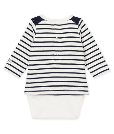 Body camiseta de rayas para bebé niño