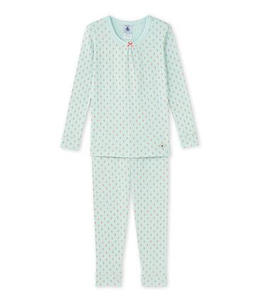 Pijama estampado para niña