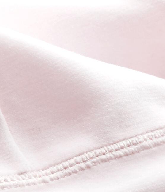 Gorro de nacimiento en terciopelo para bebé unisex rosa Vienne