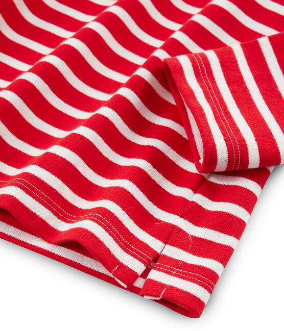 Camiseta marinera para mujer rojo Peps / blanco Marshmallow