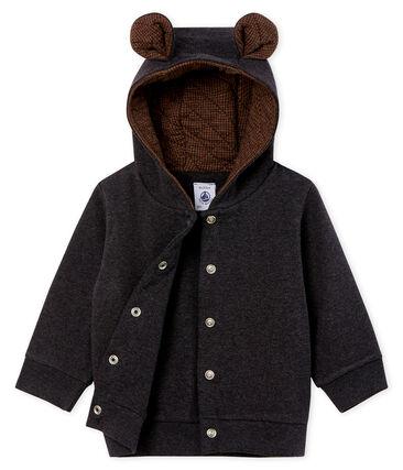 Sudadera con capucha de punto de elastano para bebé niño
