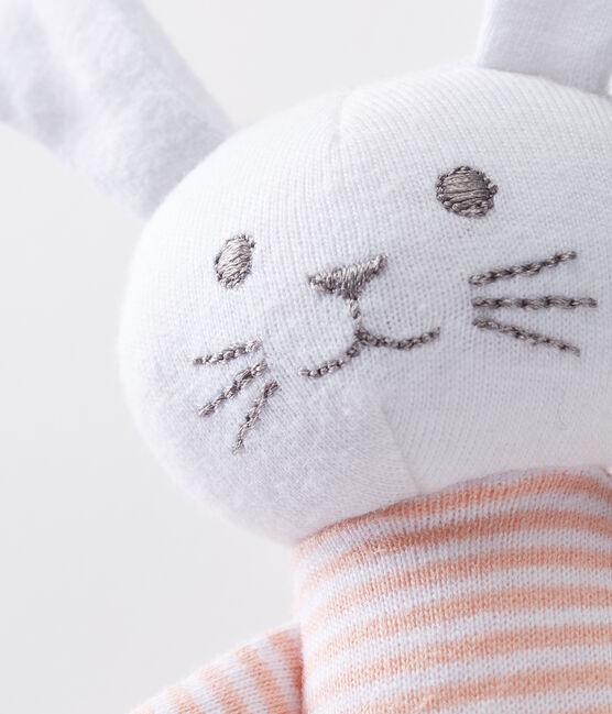 Dudú conejito sonajero para bebé unisex rosa Rosako / blanco Marshmallow