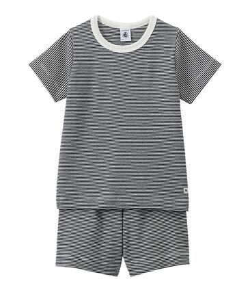 Pijama corto milrayas para niño