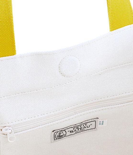 Bolso blanco Marshmallow / amarillo Shine