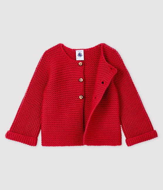 Cárdigan de lana y algodón para bebé niña POPPY