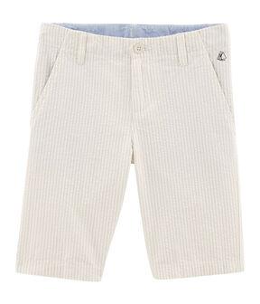 Bermudas de niño beige Beige / blanco Marshmallow