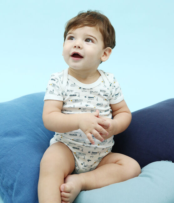 Tres bodis manga corta para bebé niño lote .