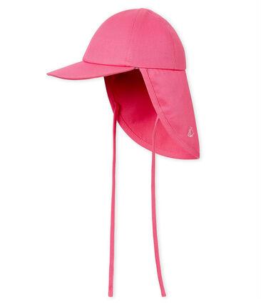 Gorra parasol bebé niño rosa Groseiller