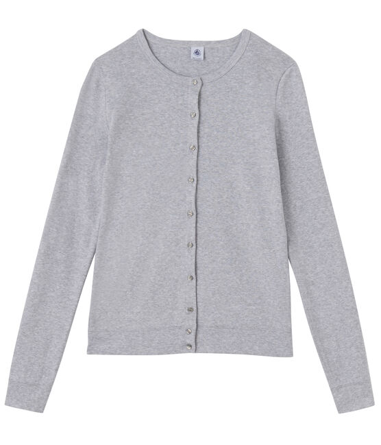 Cardigan mujer gris Fumee Chine