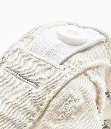 Pantalón de bebé niño en gabardina