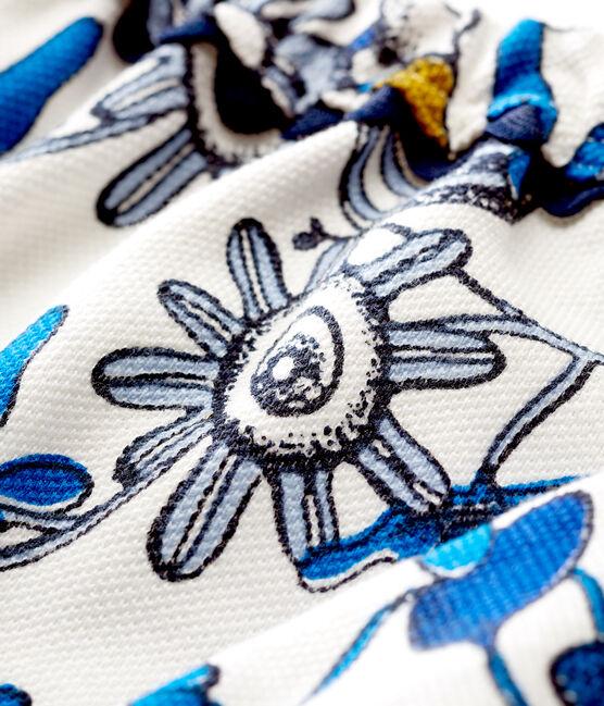 Braguitas bloomer de tela estampada para bebé niña blanco Marshmallow / blanco Multico