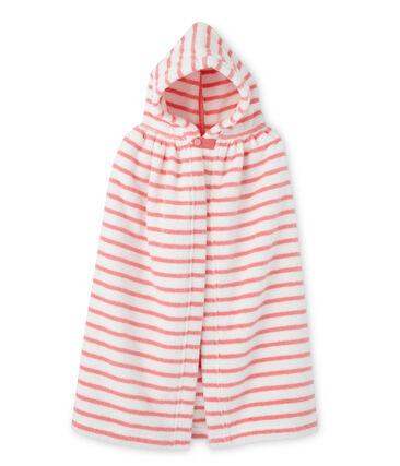 Capa de baño rayada para bebé unisex