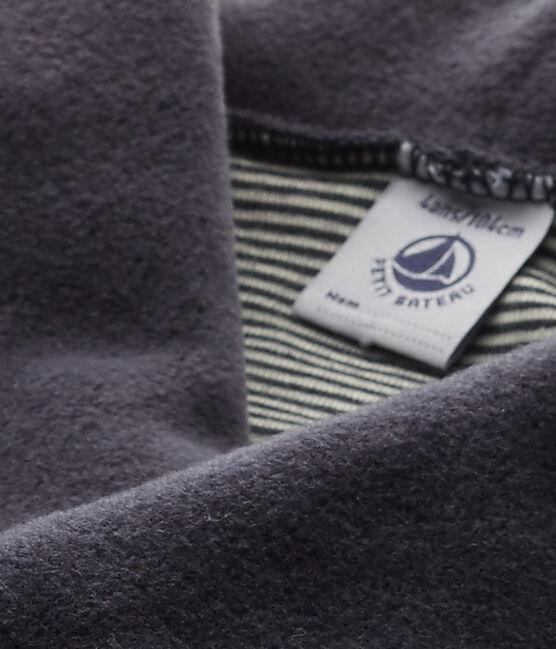 Bata manta para niño azul Smoking