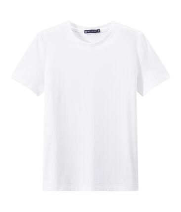 Camiseta INDISPENSABLE en jersey ligero para mujer blanco Ecume