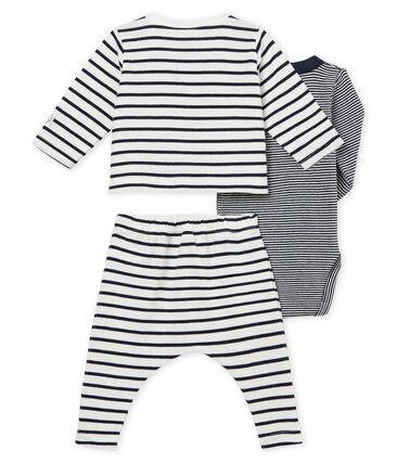Conjunto 3 piezas de rayas para bebé niño