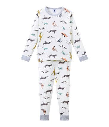 Pijama para niño blanco Marshmallow / blanco Multico